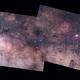 2016 mosaic M16-M17 + Scutum star cloud + M11 + M26  with Zenit Jupiter 11-A 135mmf4 lens + 550D,                                Rocco Parisi