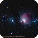 Crop of M42, M43 and NGC1977,                                Hans-Peter Olschewski