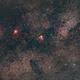 Large field on Omega Nebula,                                Michele Campini