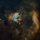NGC 7822 4-Panel Mosaic,                                Loran Hughes