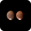 Mars from 13th of July - 1 hour difference,                                Riedl Rudolf