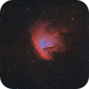 NGC281 - Pac-Man Nebula - HaOIII (bicolour),                                  Roberto Botero