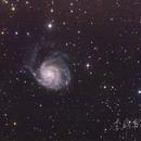 """M101 """"Pinwheel"""" Galaxy,                                  wei-hann-Lee"""