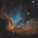 NGC 7380 Wizzard nebula,                                Audrius