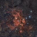 Lobster Nebula,                                Frank