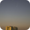 Bright comet beats inner city sky!,                                Luigi Fontana