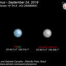 Uranus clouds - September 24, 2019,                                Fábio