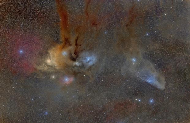 Rho Ophiuchi, IC4592,                                s1macau