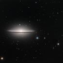 M104 Sombrero Galaxy,                                Kevin Parker