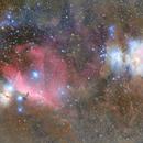 M42 & horsehead nebula,                                s1macau