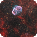 Crescent Nebula and Soap Bubble,                                Chuck's Astrophot...