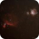 M42 and IC 434 widefield,                                Thierry Hergault