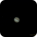 Jupiter with 3 Moons,                                NewLightObservatory