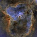 IC 1805 Heart Nebula in SHO,                                Jean-François Dou...