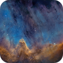 The great wall in NGC 7000 mosaic,                                Christoph Lichtblau