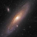 M31 L(Ha)RGB from Takahashi 150TOA + 16803,                                seasonzhang813
