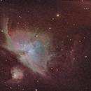 M42- Orion Nebula,                                Julian Claxton