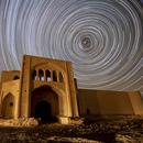 Caravansary and Rotating Sky,                                  Amir H. Abolfath