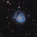 M101   Pinwheel Galaxy  & Co,                                  Alberto Pisabarro
