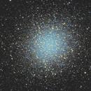 M13- The great globular cluster in Hercules,                                Pyrasanth