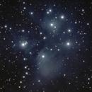 Messier 45, The Plejades,                                Björn Arnold
