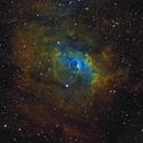 NGC7635 in HST palette,                                Gordon Haynes