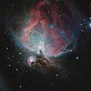 Orion Nebula - M42,                                Spitzer