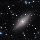 Galaxie NGC 7814 Pegasus,                                Denis Bergeron