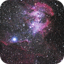 partial Running Chicken  nebula (IC2944),                                KiwiAstro