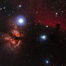 The HorseHead and Flame Nebula,                                Mike H