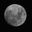 Narrowband Moon,                                AstroNico