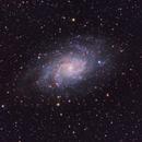 M33 LRGB+Ha,                                Tom H