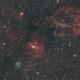 Bubble Nebula and its region,                                thecrashteam