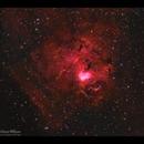 NGC 1491 Wild Boar Nebula HaRGB new approach,                                  Göran Nilsson