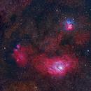 M20, M8 and NGC 6559 in Sagittarius,                                CrestwoodSky