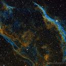 Western Veil, Hubble Palette,                                Chris