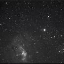 V1405 Cas (Nova Cas 2021) and the Bubble Nebula  (NGC 7635) in Ha (May 11 2021),                                Nikola Nikolov