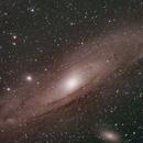 Andromeda Galaxy - M31,                                Ali Efe Sarikaya