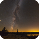 Milky Way Over The Sierras,                                Josh Woodward