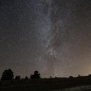 La Voie Lactée sur le Plateau de Beille,                                Philastro
