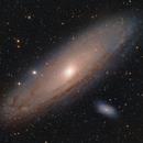 Andromeda galaxy,                                Serkan Boydağ
