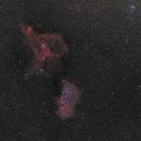 Heart nebula and Soul nebula widefield,                    Fritz