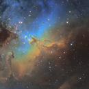 Eagle Nebula (M16) Pillars of Creation,                                John Sojka jr