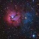 Trifid Nebula(M20),                                Stuart Goodwin