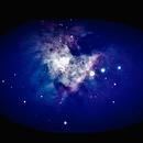 M42 Orion Nebula - first attempt,                                JMZ80hobbyastropy