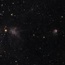 NGC 1931 and IC 417 12 Jan 2021,                                bunyon