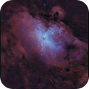 Messier 16 - The Eagle Nebula - Bicolor,                    Frank Schmitz