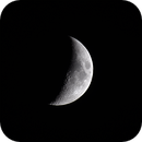 Waxing Crescent Moon,                                Marc Mantha