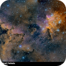 iC1805 The Heart Nebula, HSO Mosaic,                                Toni Mancera