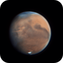 Mars rotation Nov 14 2020 with dust storm,                                Kevin Parker